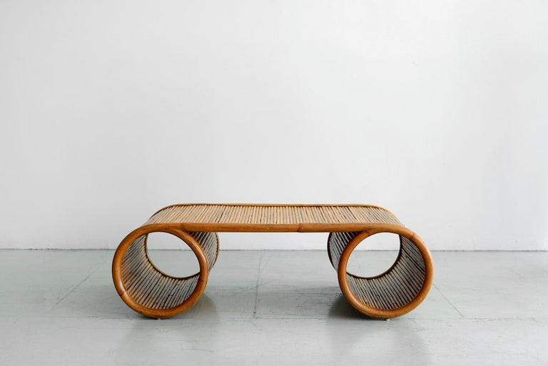 Mid-Century Modern Gabriella Crespi Style Coffee Tables For Sale