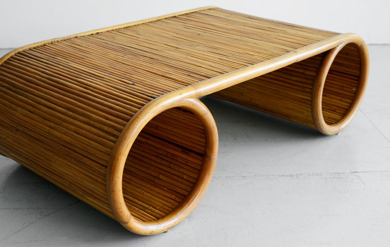 American Gabriella Crespi Style Coffee Tables For Sale