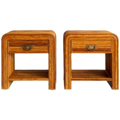 Gabriella Crespi Style End Tables