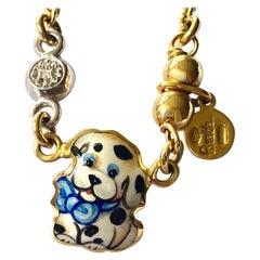 Gabriella Rivalta, Little Dog Chain with Diamond