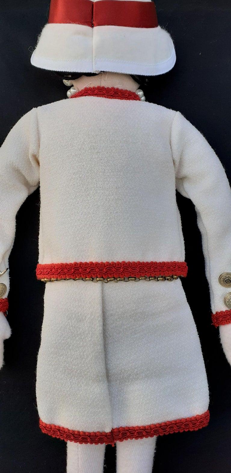 Women's or Men's Gabrielle Chanel La Petite Coco Doll Limited Edition 2010 Chanel Shop Windows For Sale