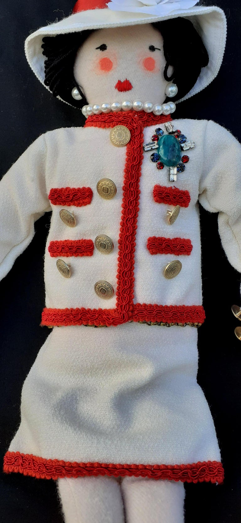 Gabrielle Chanel La Petite Coco Doll Limited Edition 2010 Chanel Shop Windows For Sale 4
