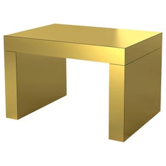 Gaby Coffee Table Gold Aluminium