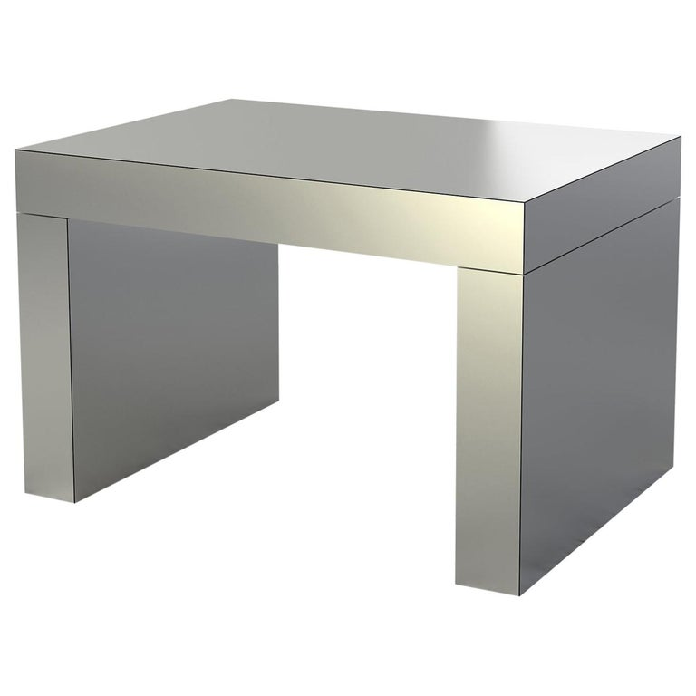 Contemporary Bench/Coffee Table Gaby Aluminium by Chapel Petrassi For Sale