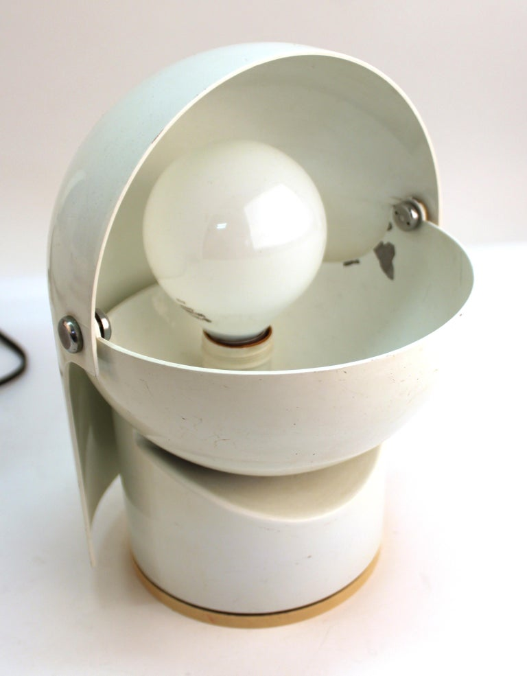 Late 20th Century Gae Aulenti For Artemide Italian Modern 'Pileino' Table Lamps For Sale