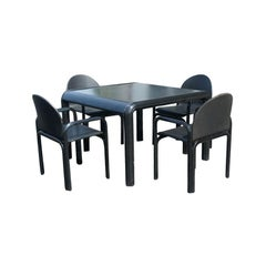 Gae Aulenti For Knoll Dining Table And Four Chairs