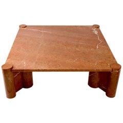 Gae Aulenti for Knoll Jumbo Marble Coffee Table
