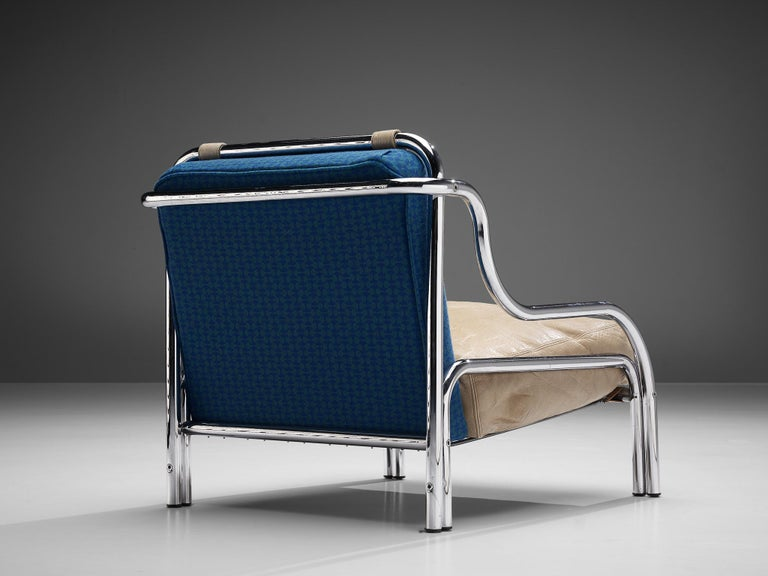 Mid-20th Century Gae Aulenti for Poltronova 'Stringa' Lounge Chair For Sale