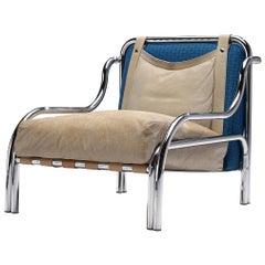 Gae Aulenti for Poltronova 'Stringa' Lounge Chair