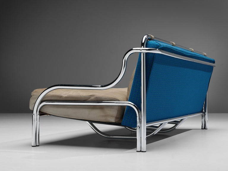 Mid-Century Modern Gae Aulenti for Poltronova 'Stringa' Sofa For Sale