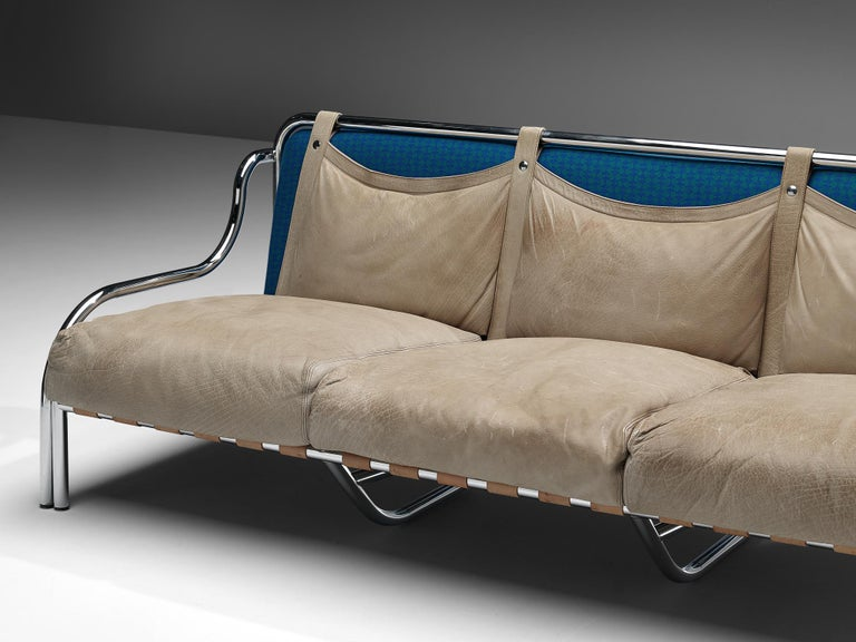 Gae Aulenti for Poltronova 'Stringa' Sofa For Sale 2