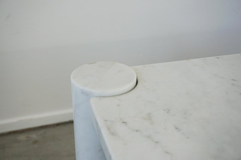 Mid-20th Century Gae Aulenti Marble Table For Sale