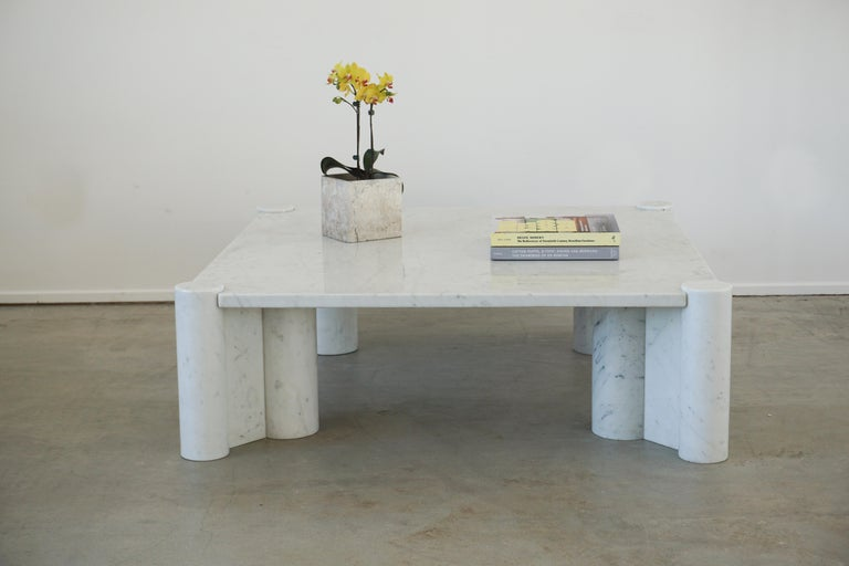 Gae Aulenti Marble Table For Sale 3