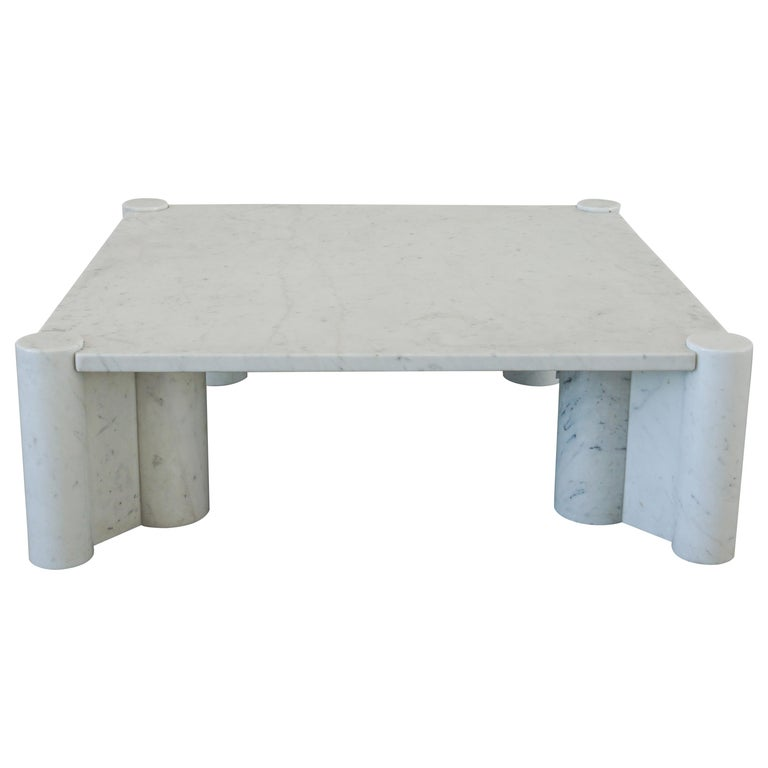 Gae Aulenti Marble Table For Sale