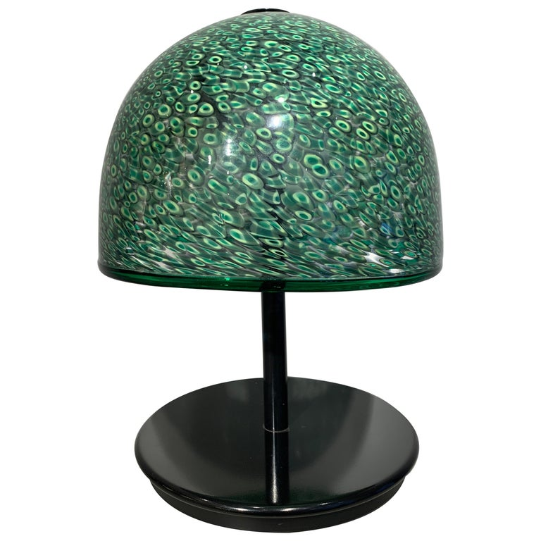 Gae Aulenti Murrine Glass Table Lamp, 1980s For Sale