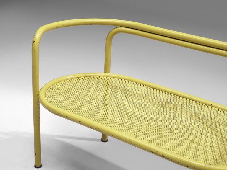 Italian Gae Aulenti Yellow 'Locus Solus' Bench For Sale