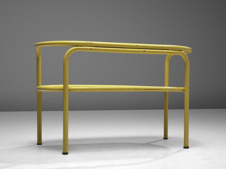Mid-20th Century Gae Aulenti Yellow 'Locus Solus' Bench For Sale
