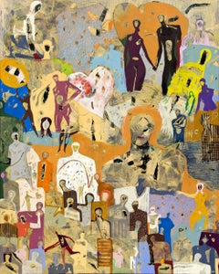 Stories by Gaetan de Seguin - Contemporary Abstract Figurative painting
