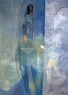 Vanity Fair by Gaetan de Seguin - contemporary abstract & figurative painting