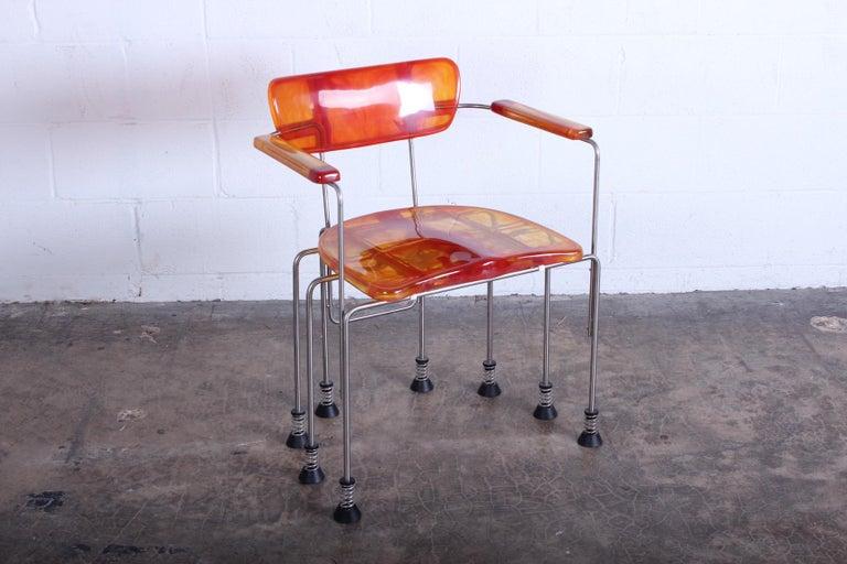 Gaetano Pesce Broadway Chair for Bernini In Good Condition For Sale In Dallas, TX