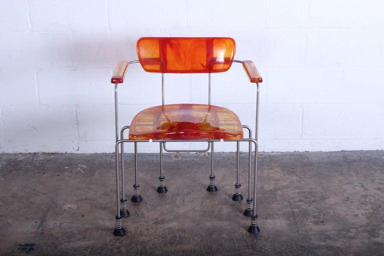 Late 20th Century Gaetano Pesce Broadway Chair for Bernini For Sale