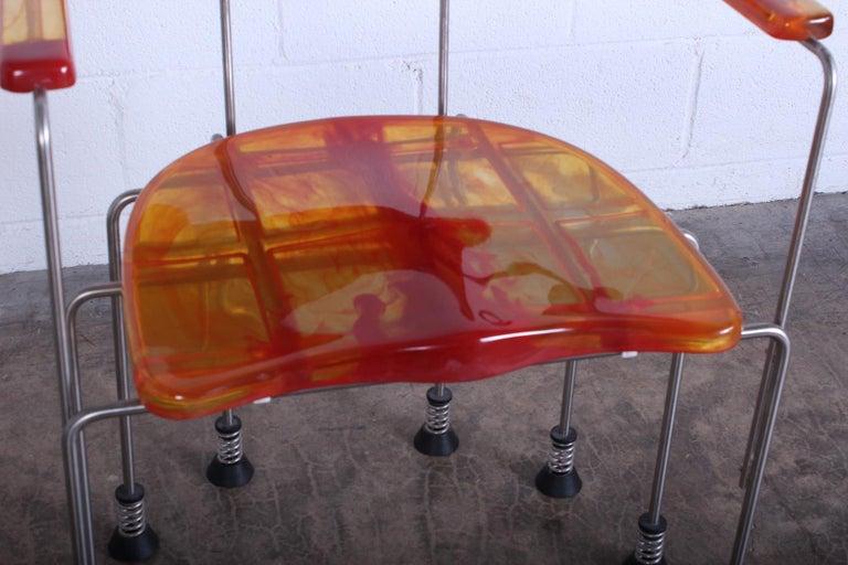 Resin Gaetano Pesce Broadway Chair for Bernini For Sale