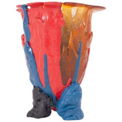 Gaetano Pesce Colourful Resin Vase, 1996