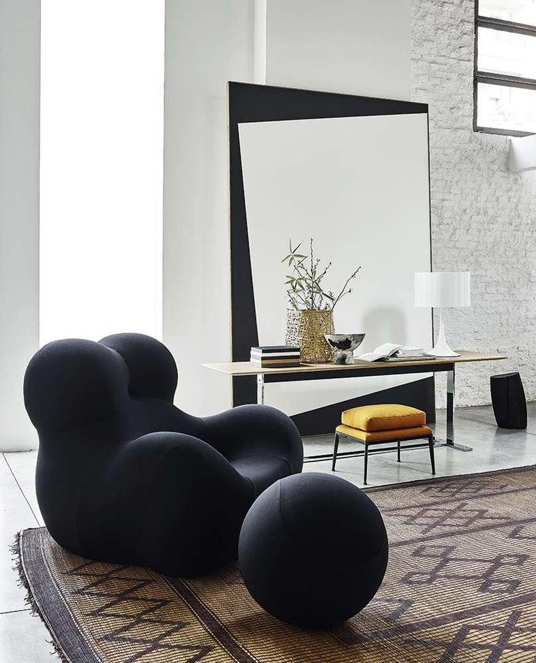 Gaetano Pesce for B&B Italia UP5 and UP6 Lounge Chair and Ottoman, Signed For Sale 6