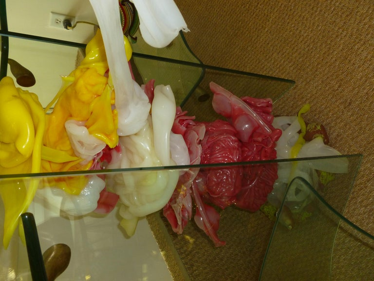 Gaetano Pesce Italian Resin and Mixed-Media Sculpture Art For Sale 10