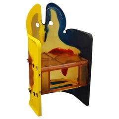 Gaetano Pesce Multicolored Armchair from Nobody's Perfect Series Zerodisegno