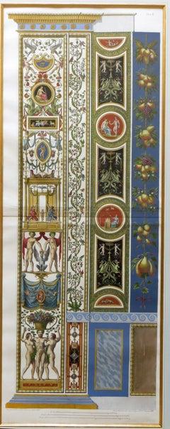 Logge di Rafaele nel Vaticano (Raphael's Loggia in the Vatican) Plate X Pilaster