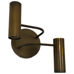 Gaetano Sciolari 'Attributed' Wall Lights / Sconces, Brass, Italy, Italy, 1960s