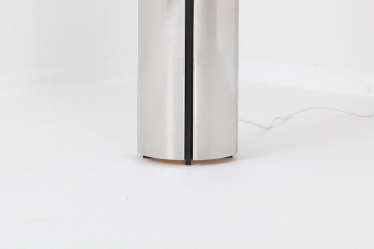 Gaetano Sciolari Chrome Table Lamp 4