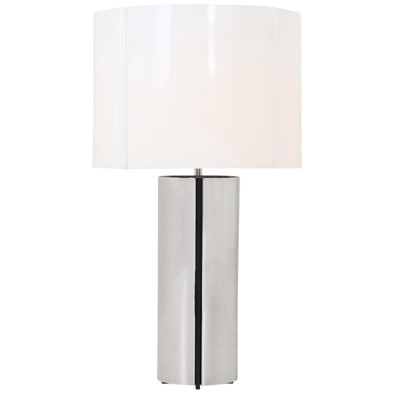 Gaetano Sciolari Chrome Table Lamp 1