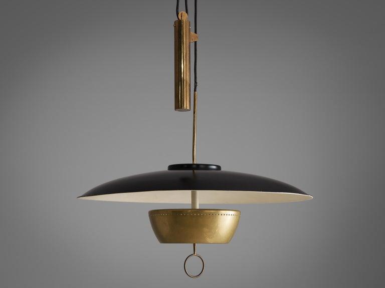 Mid-Century Modern Gaetano Sciolari for Stilnovo Ceiling Lamp 'A5011' For Sale