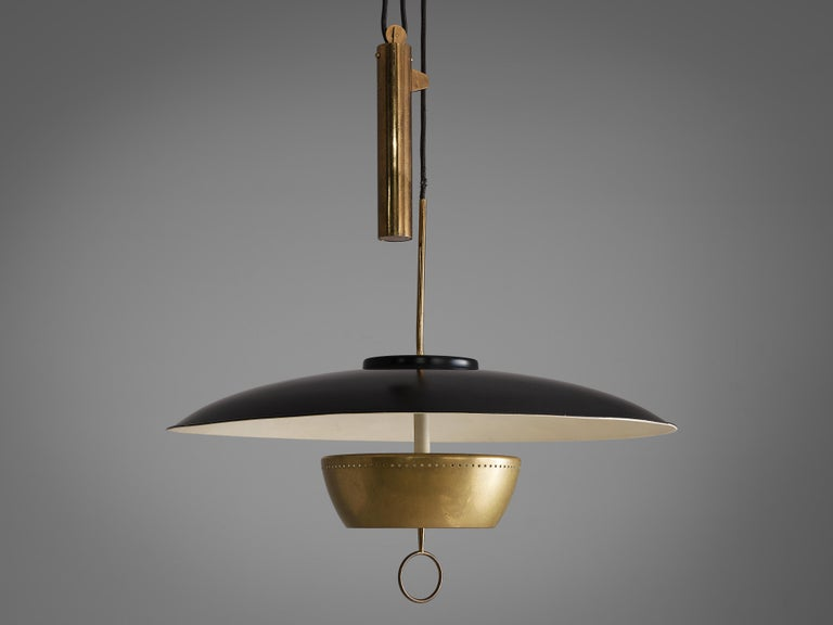 Italian Gaetano Sciolari for Stilnovo Ceiling Lamp A5011 For Sale