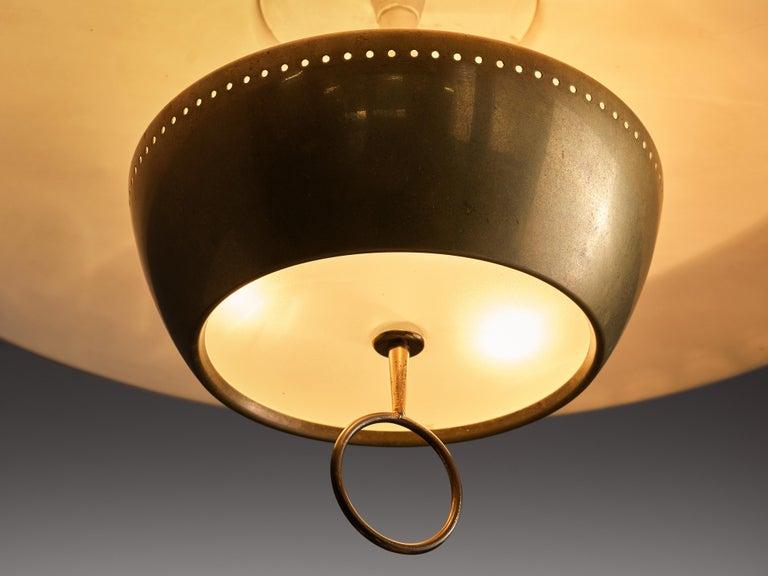 Gaetano Sciolari for Stilnovo Ceiling Lamp A5011 In Good Condition For Sale In Waalwijk, NL