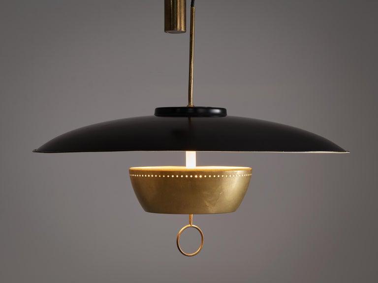 Gaetano Sciolari for Stilnovo Ceiling Lamp 'A5011' In Good Condition For Sale In Waalwijk, NL