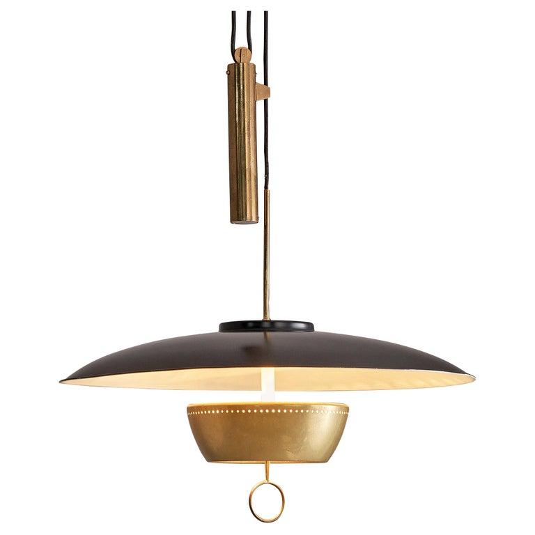 Gaetano Sciolari for Stilnovo Ceiling Lamp A5011 For Sale