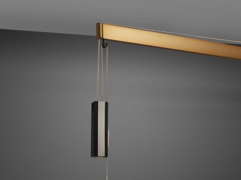 Mid-20th Century Gaetano Sciolari for Stilnovo Wall-Mounted Pendant Lamp For Sale