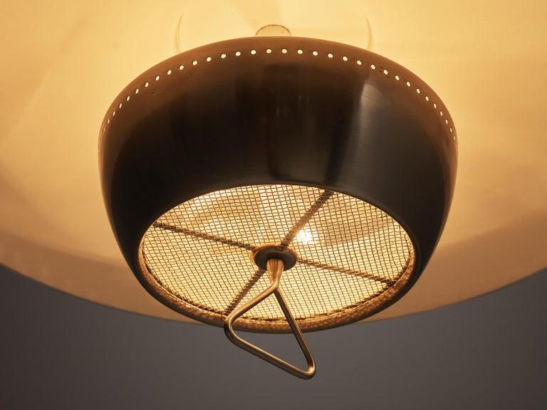 Aluminum Gaetano Sciolari for Stilnovo Wall-Mounted Pendant Lamp For Sale