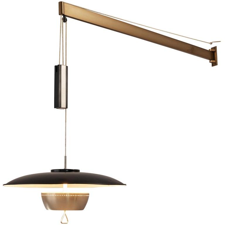 Gaetano Sciolari for Stilnovo Wall-Mounted Pendant Lamp For Sale