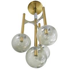 Gaetano Sciolari Four Globe Pendant