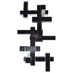 Gaetano Sciolari Geometric Flush Mount Light