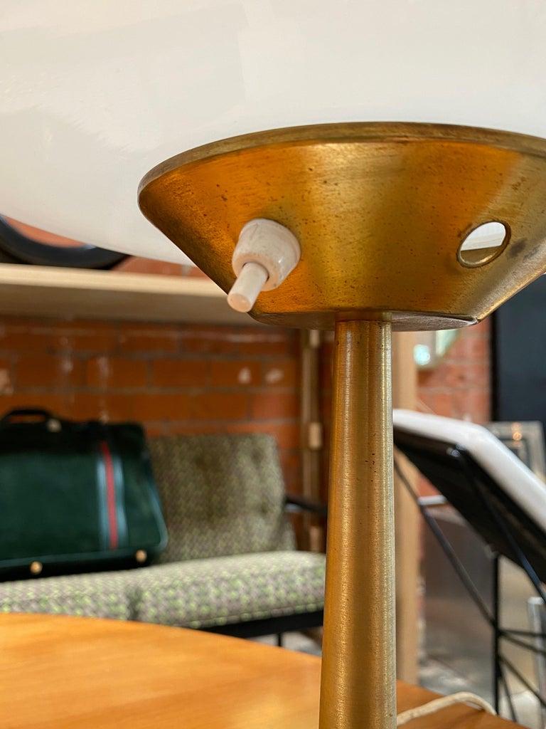 Late 20th Century Gaetano Sciolari Mid-Century Modern Italian Table Lamp, circa 1970 For Sale
