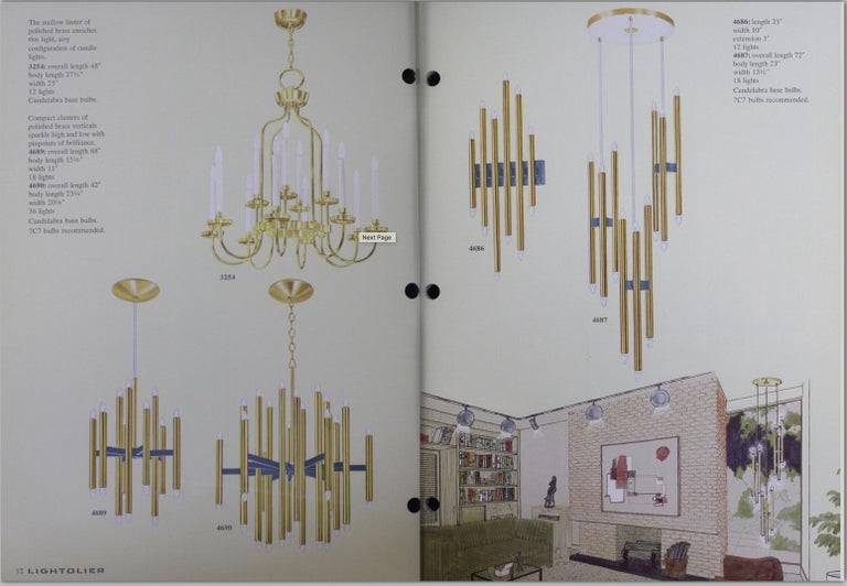 Gaetano Sciolari Multi Tubular Brass Wall Light In Good Condition For Sale In Hingham, MA
