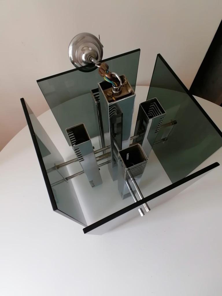 Gaetano Sciolari Pendant Lamp Chandelier For Sale 3