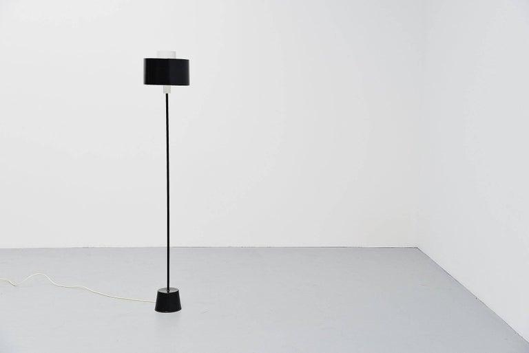 Aluminum Gaetano Sciolari Stilnovo Floor Lamp, Italy, 1954 For Sale