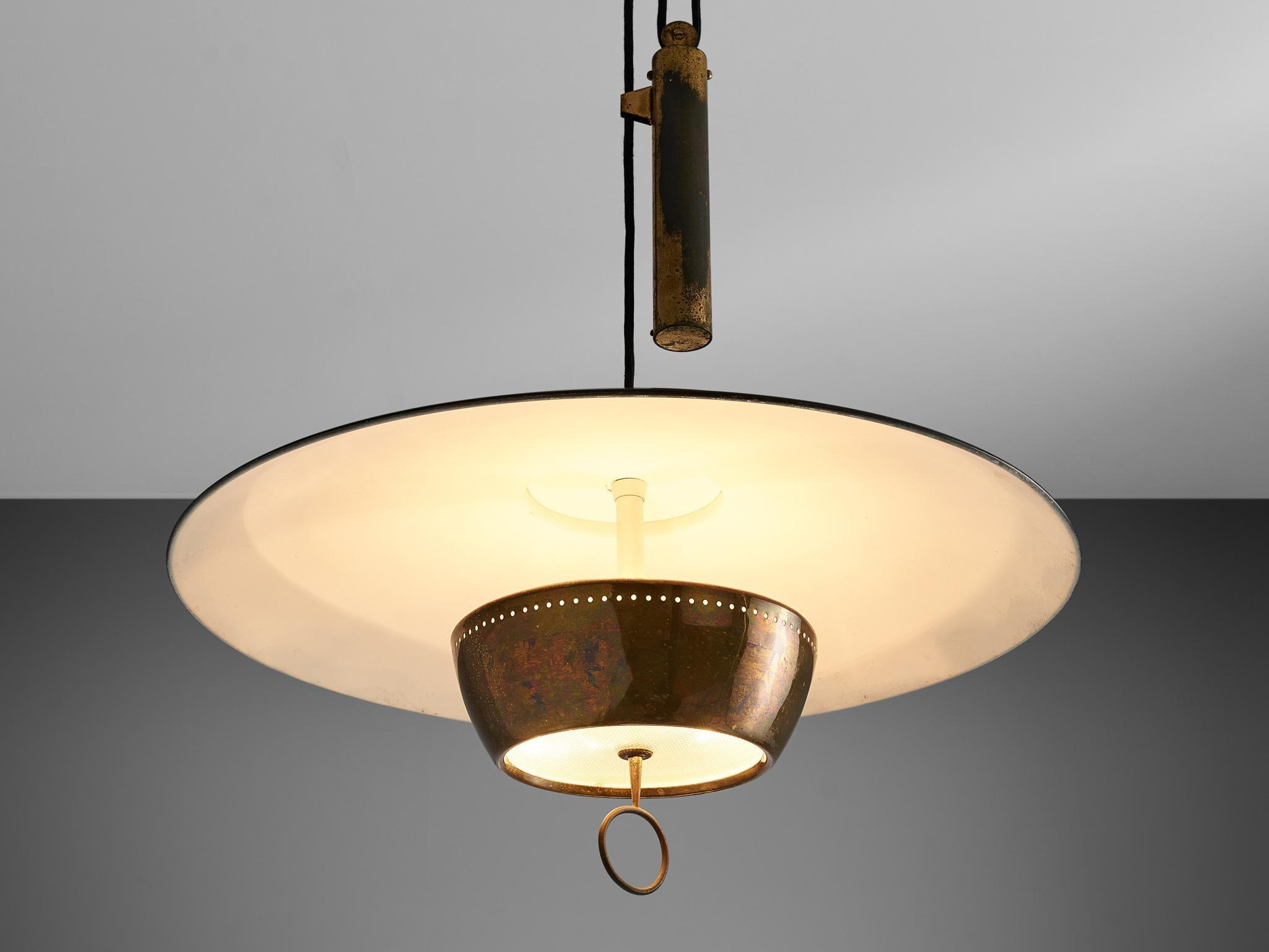 Gaetano Sciolari For Stilnovo Ceiling Lamp A5011 For Sale At 1stdibs