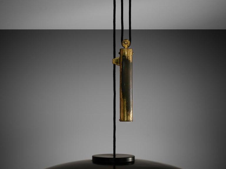 Mid-20th Century Gaetano Scolari for Stilnovo Ceiling Lamp A5011 For Sale